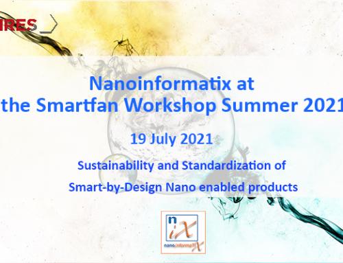 Nanoinformatix project at the Smartfan Workshop Summer 2021